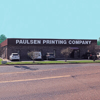 History of Paulsen Printing since 1978
